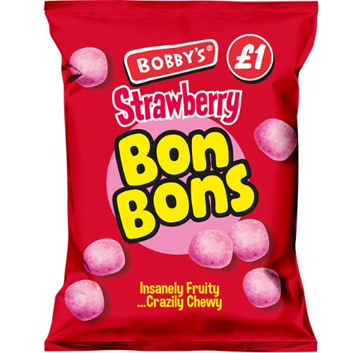Bobby's Strawberry Bon Bon 150g (UK)